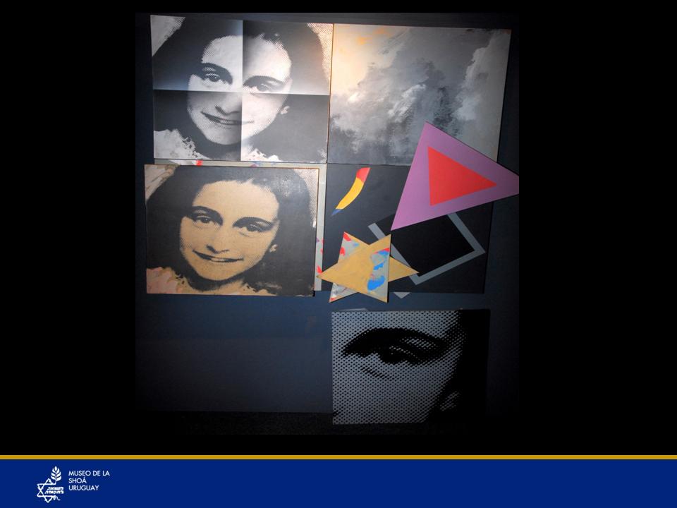 """Inocencia y esperanzas en un mundo mejor y lo que ella y su obra """"El Diario de Ana Frank"""" representan como un símbolo universal… Cuántas escritoras como Ana Frank, cuántos arquitectos, cuántos carpinteros, ingenieros, físicos, etc., cuántas generaciones quedaron truncas…"""